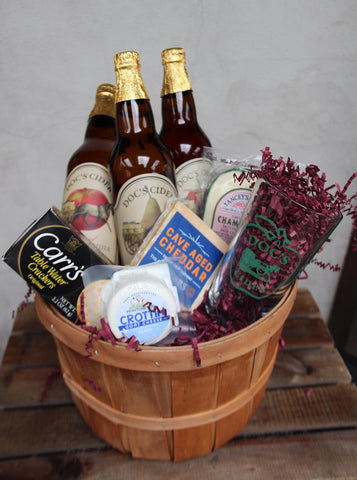 Cider & Cheese Basket