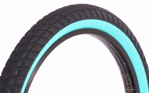 Fit FAF Tyre Teal Wall