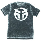 Federal Freehand Tee - Black Acid Wash