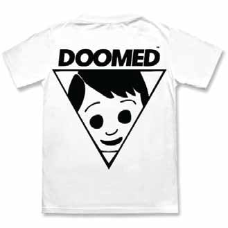 Doomed Lad Tee in White