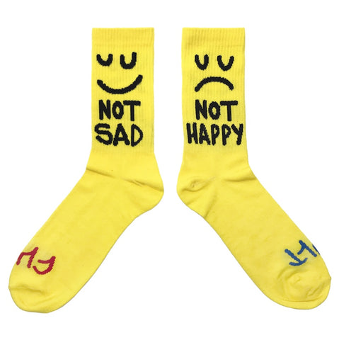 Cult This Night Socks - Yellow