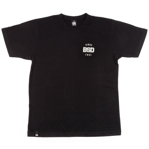 BSD Engineered Tee - Black