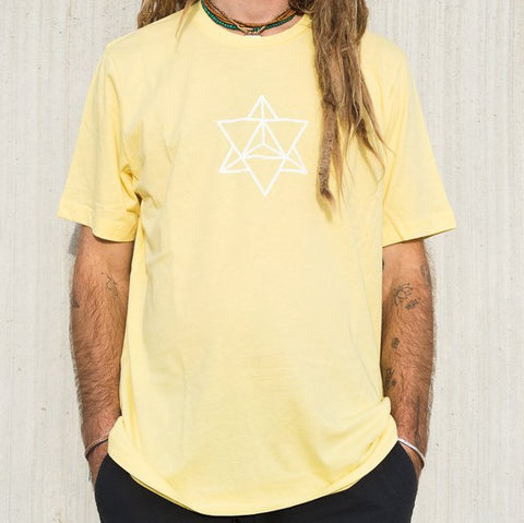 Marie Jade Coulomb Tee - Yellow