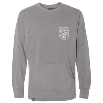 The Trip Outskirts Crew Sweat - Grey