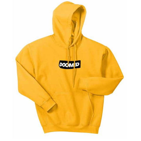 Doomed Sticky Hoodie - Yellow