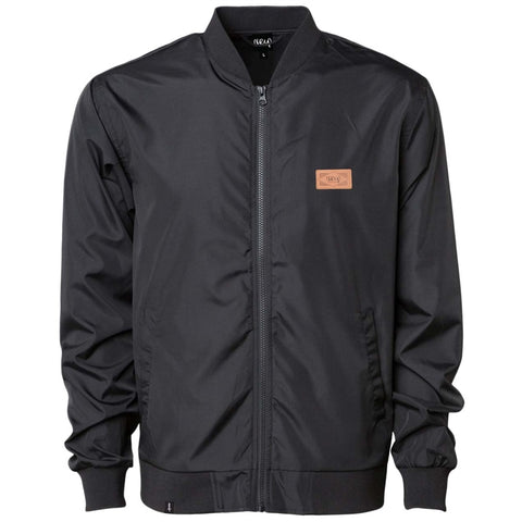 The Trip Badge Bomber Jacket - Black