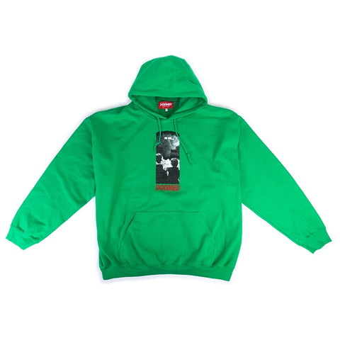 Doomed The End Hoodie - Safety Green