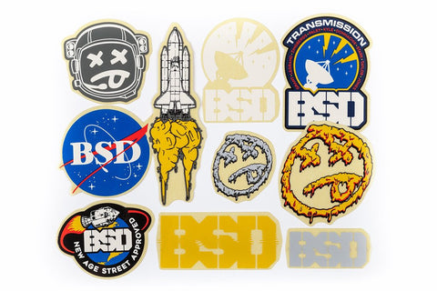 BSD Assorted 2017 Sticker Pack
