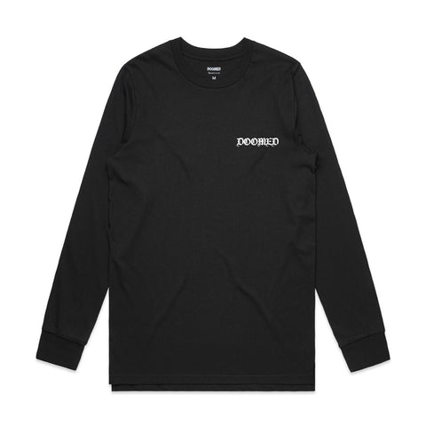 GERMANY LONG SLEEVE BLACK