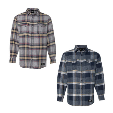 Snap-Button Flannels