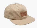 The Trip Leather Patch 6 Panel Cap