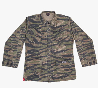 The Trip Tiger Camo Jacket