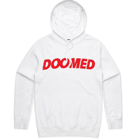 DOOMED ARCHIE HOODIE - WHITE