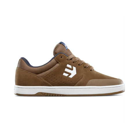Etnies Marana Skate Shoes - Brown/Navy