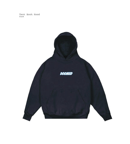 Doomed Textbook Logo Hoodie