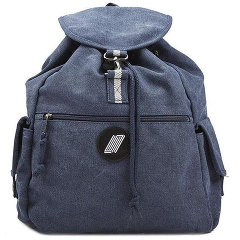 UNITED CANVAS BACKPACK   NAVY
