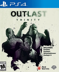 OUTLAST  TRINITY PLAY STATION 4 - PS4