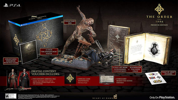 THE ORDER 1886 PREMIUM EDITION * USADO*