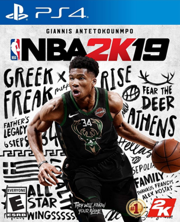 NBA 2K19 PLAY STATION 4 PS4