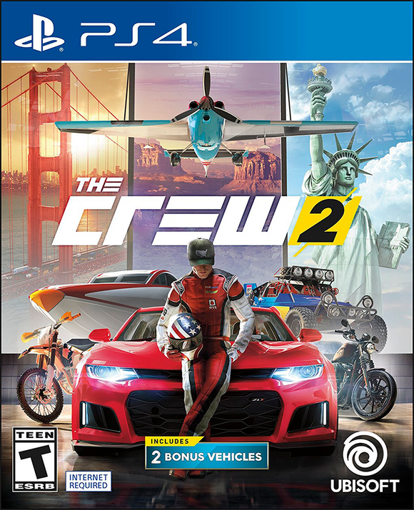 THE CREW 2 PLAY STATION 4 - PS4