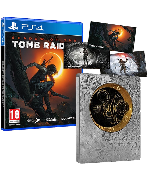 SHADOW OF THE TOMB RAIDER STEELBOOK PS4