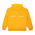 Print Works Fleece Hood - Mustard