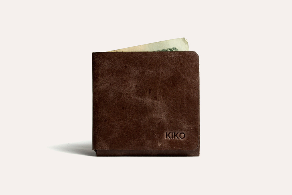 L Shape Minimal Leather Wallet