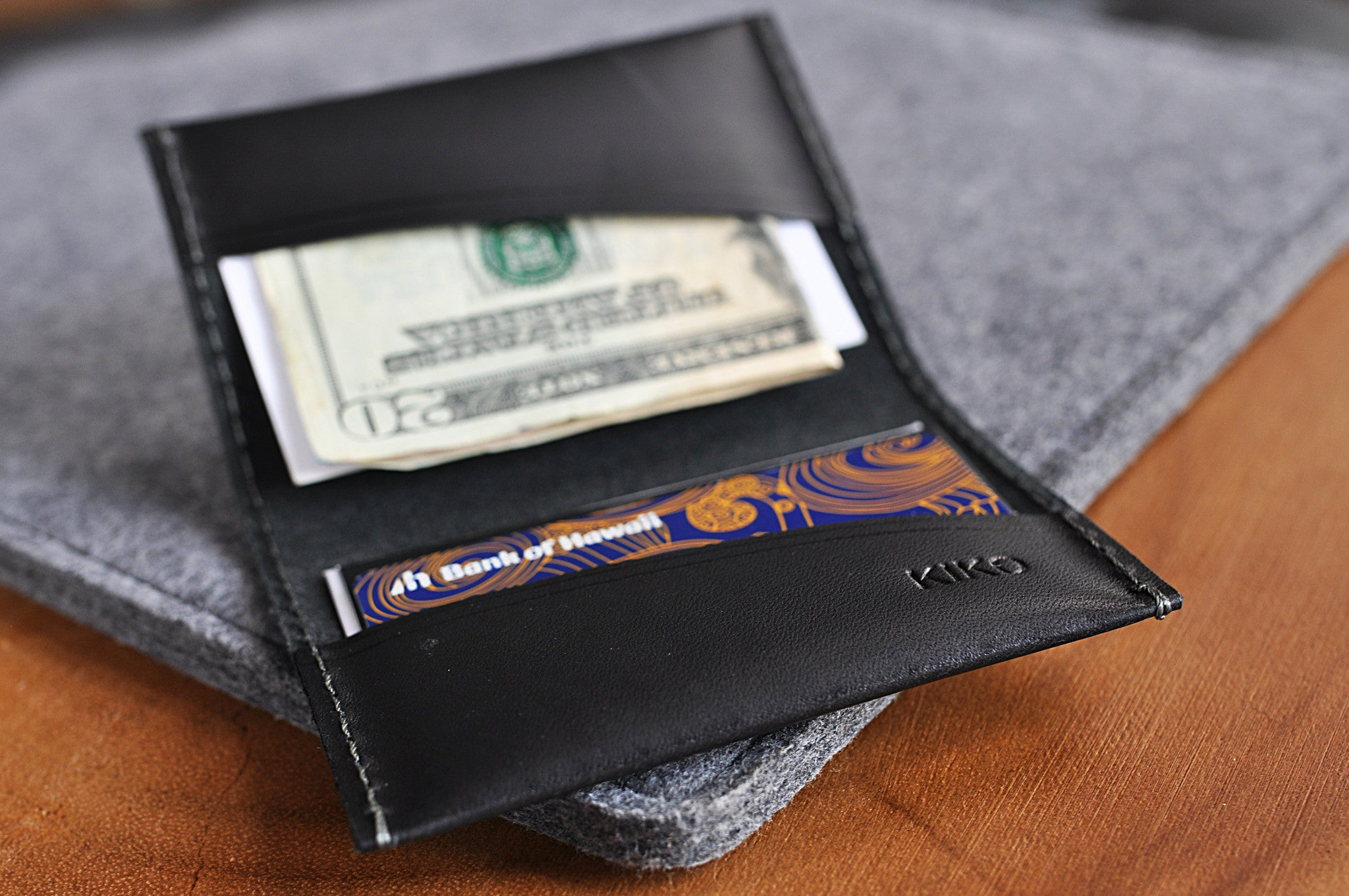 Two Fold Card Case