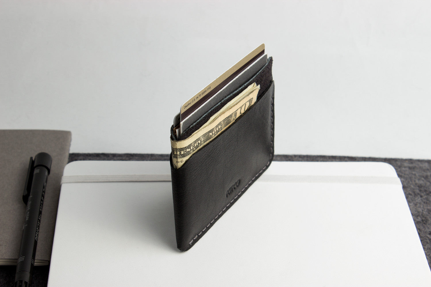 Triple Pocket Card Case