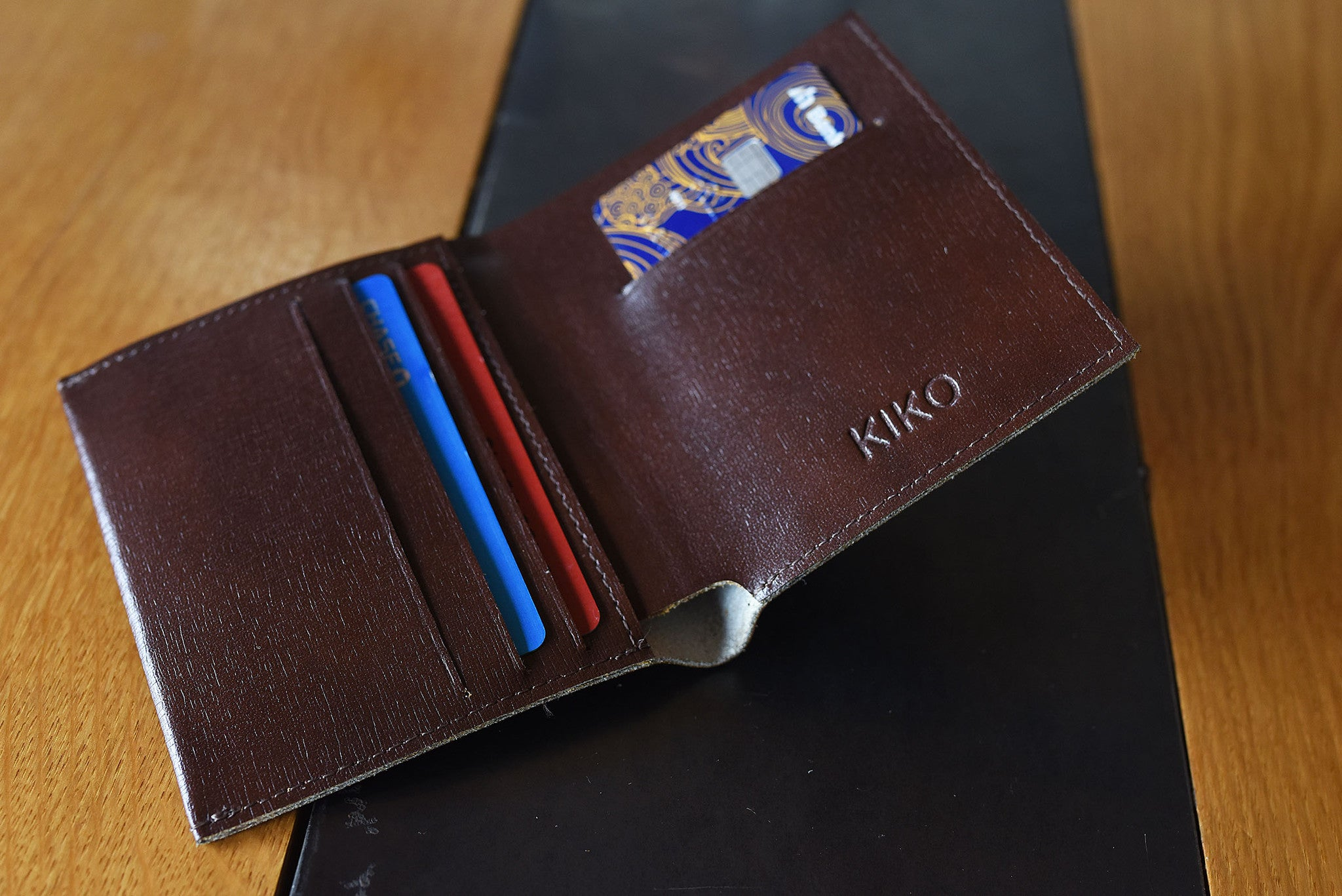 Cross Hatch Wallet