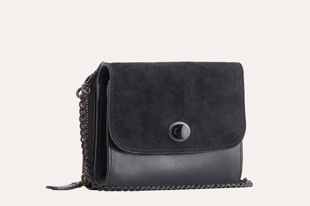 Two-Tone Crossbody