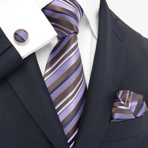 Brown,Navy,Lavender and White JPM18012
