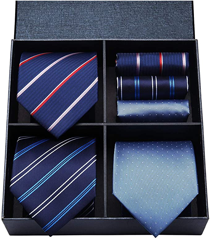 COMBO PACK  3/2PC NECKTIE SET-CBP570