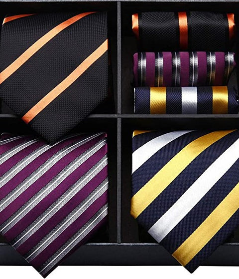 COMBO PACK 3/2PC NECKTIE SETS-CBP571