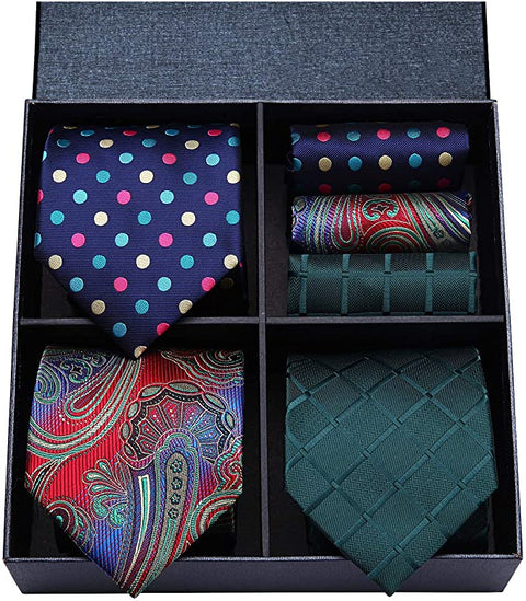 COMBO PACK 3/2PC NECKTIE SETS-CBP575