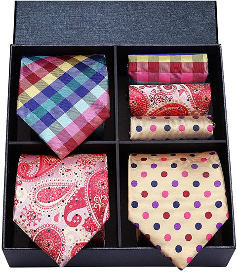 COMBO PACK 3/2PC NECKTIE SETS-CBP576