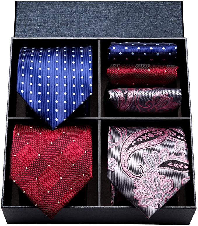 COMBO PACK XL 3/2PC NECKTIE SET-CBPXL-568