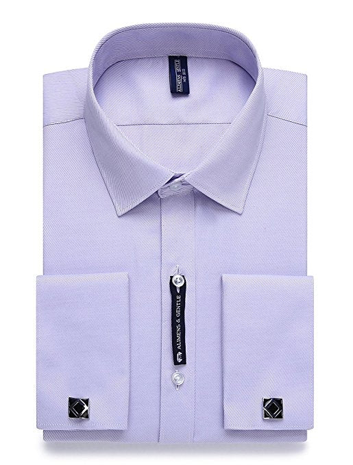 Lavender French Cuff Dress Shirt FCDS69