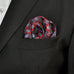 Black,Red,Mauve Light Blue Silk Necktie Set JXPP04