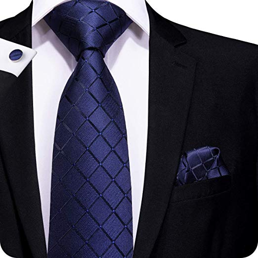 Blue Tie Set LBW260- Free Shipping
