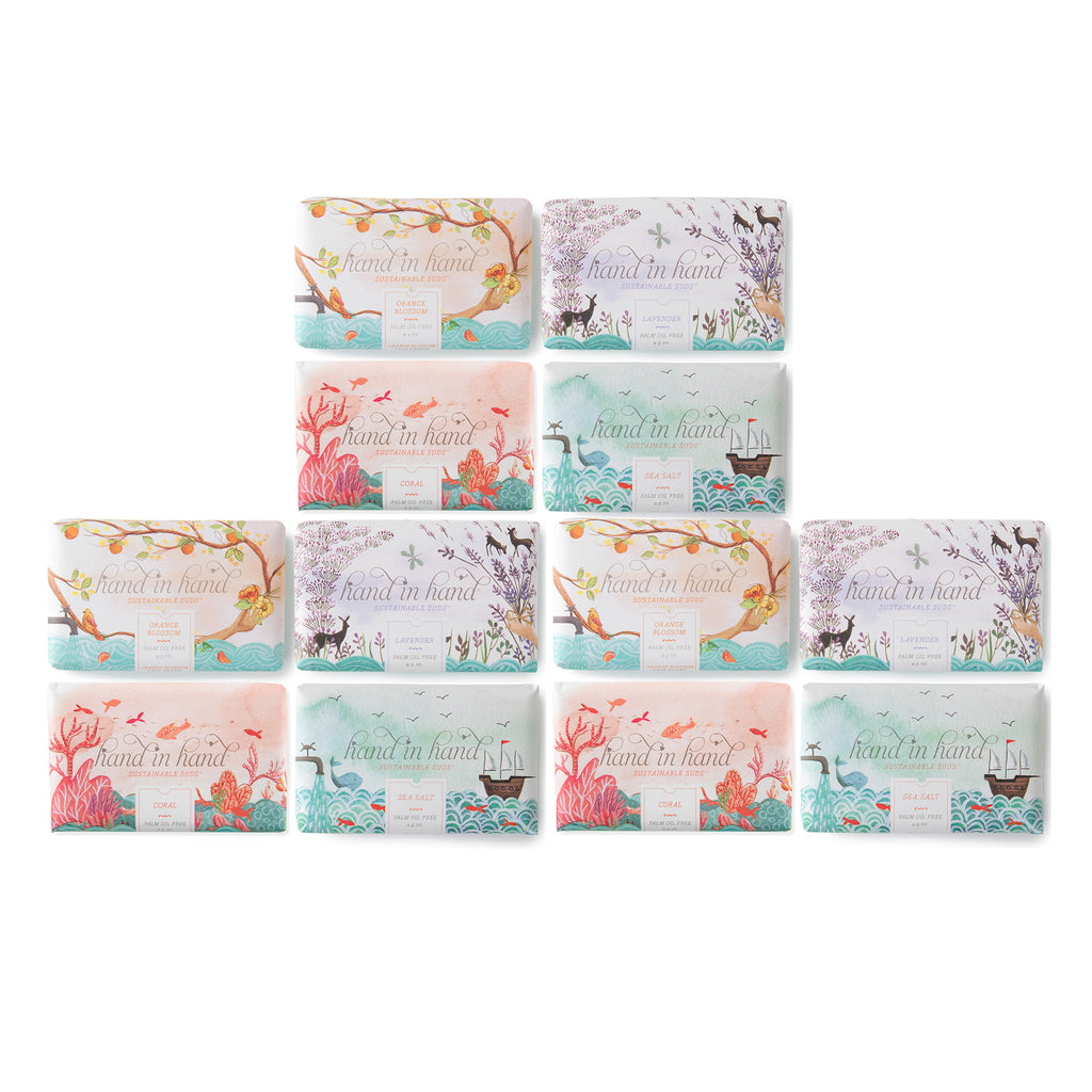 12 Pack Assorted Bar Soap Set