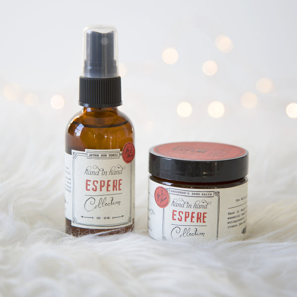 Espere Face Tonic & Hand Salve Gift Bag