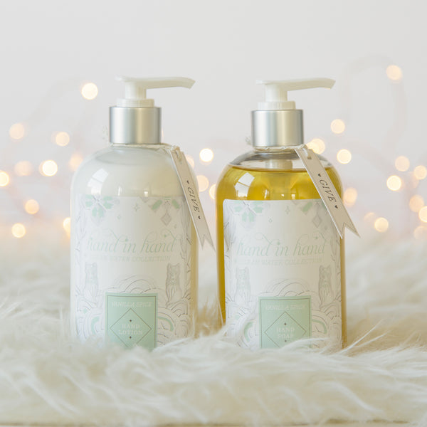 Clean Water Liquid Soap & Lotion Gift Set