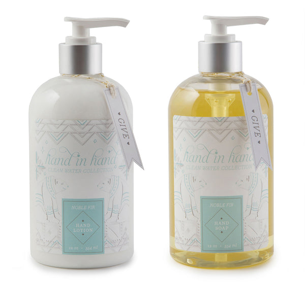 Noble Fir Liquid Hand Soap and Lotion Set