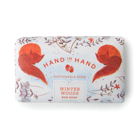 FROSTED PINE HOLIDAY BAR SOAP