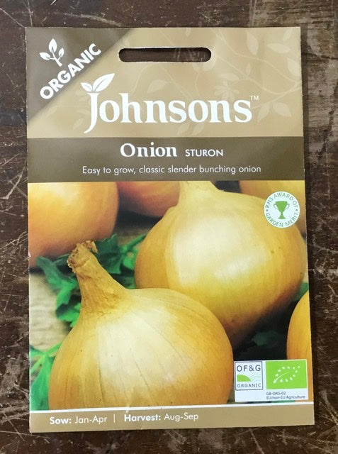 Onion sturon - Johnsons Organic Vegetables
