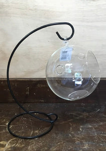 Glass Ball with stand 18048.    (14cm)