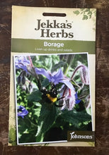Load image into Gallery viewer, BORAGE  Jekka's Herbs