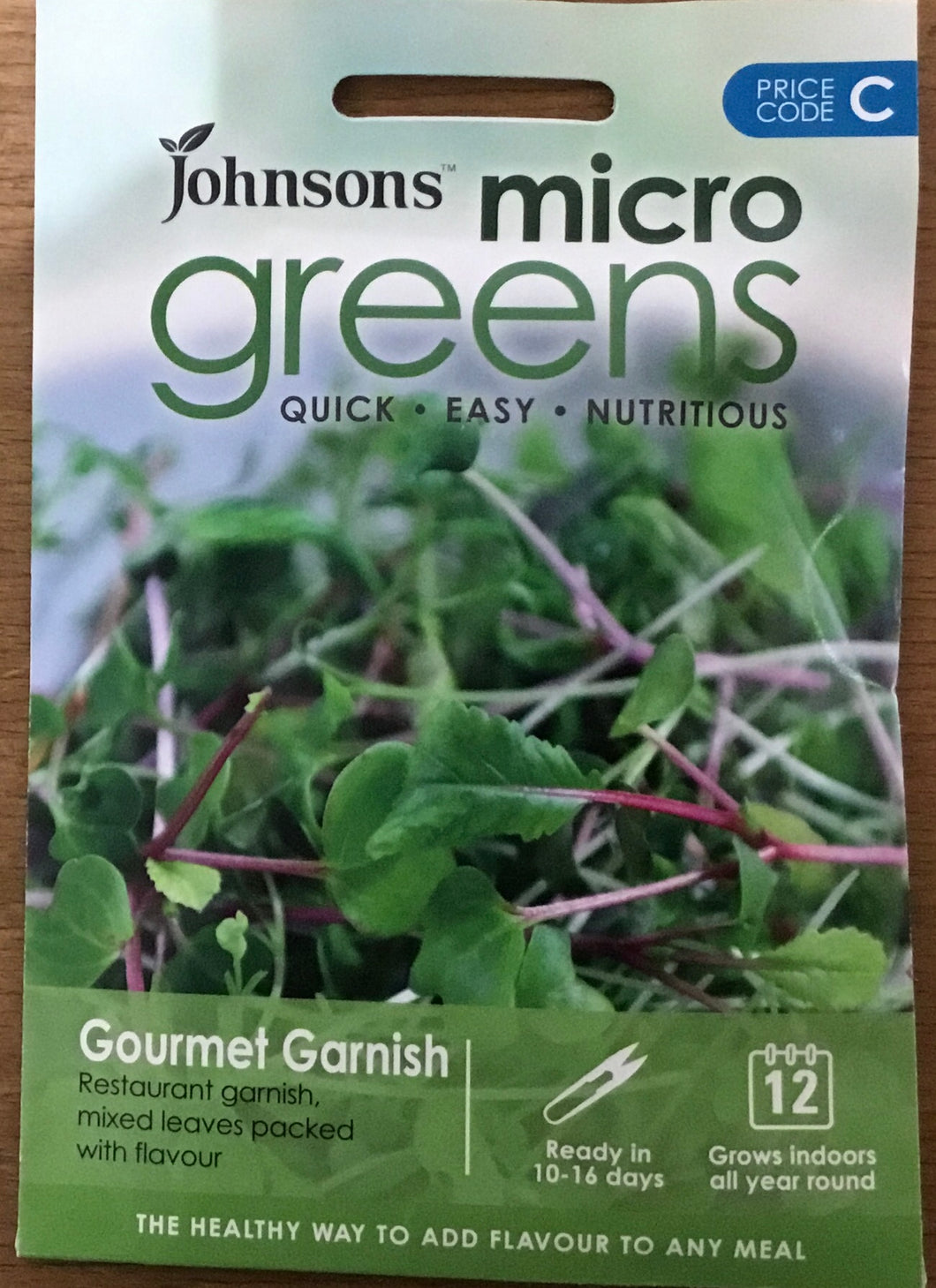 Gourmet Garnish mixed leaves Micro Greens