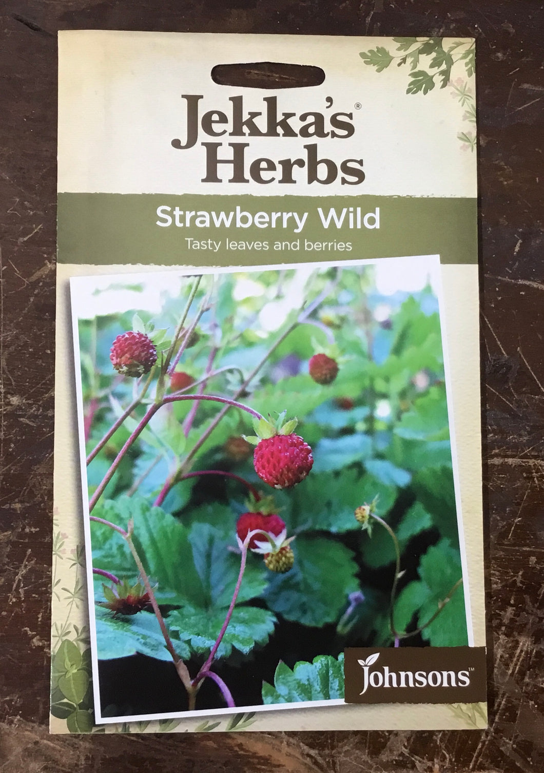 Strawberry Wild  Jekka's Herbs